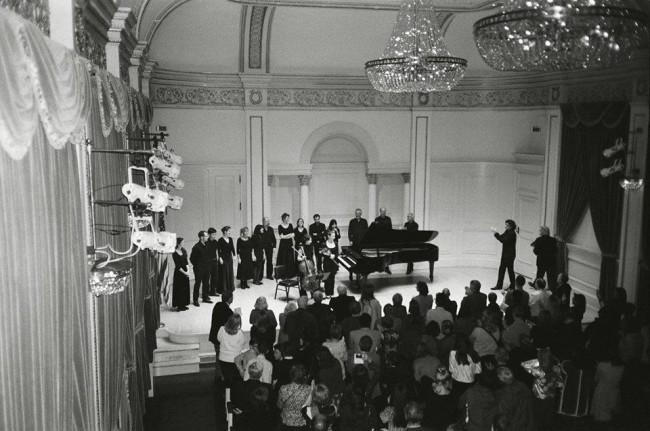 """კლასიკური და ახალი მუსიკის საღამო  – ქართველები """"კარნეგი ჰოლში"""""""