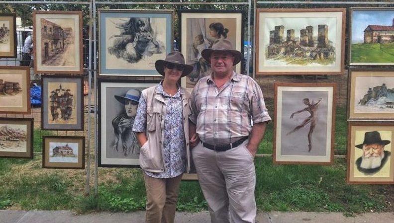 ანგელინა დამენიასა და გელა ფილაურის ნამუშევრები ვატიკანში და 10 000 ხე აფრიკის კონტინენტზე