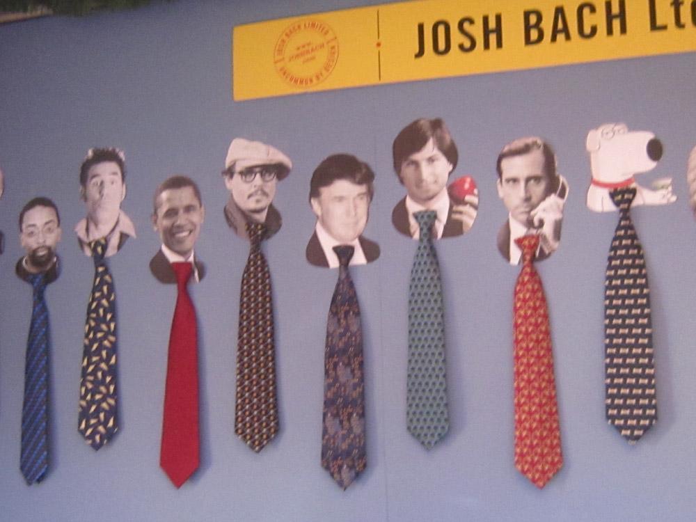 ბეკეტი, ჰალსტუხები, გასაბერი  ქრისტე და ცხოვრების სხვა ფრაგმენტები