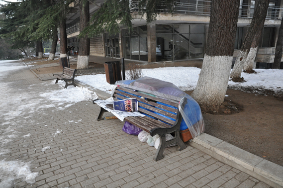 უსახლკაროები ქუჩაში
