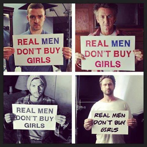 ნამდვილი მამაკაცები ქალებს არ ყიდულობენ