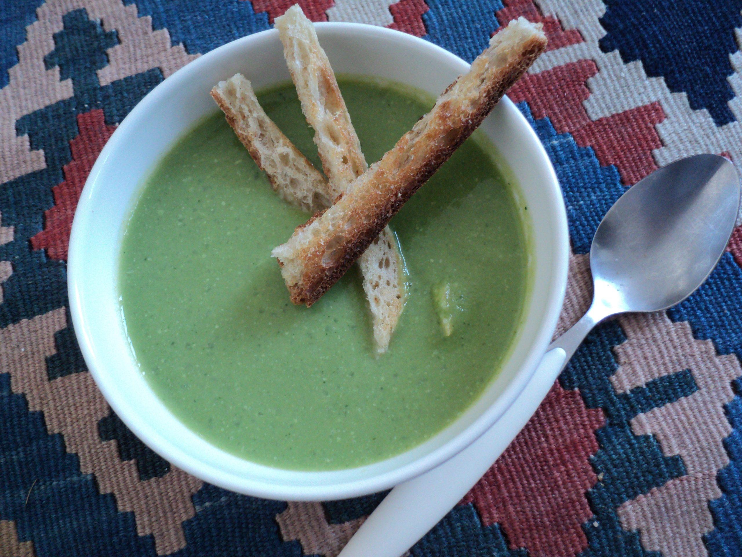 Soupe aux brocolis / ბროკოლის სუპი, უმარტივესი